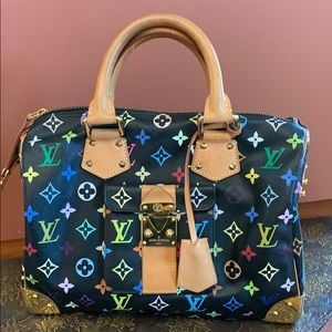 Louis Vuitton Bags - Louis Vuitton Speedy Black Multi